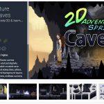 2D Adventure Sprites-Caves   – Free Download