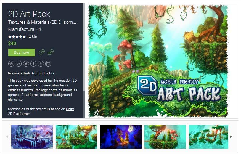 2D Art Pack