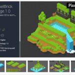 2D Dot PixelBrick Tile Parkage – Free Download Unity Assets