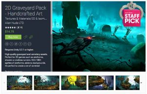 2D Graveyard Pack – Handcrafted Art – Free Download