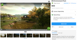 BIG Environment Pack v1.5.4 – Free Download Unity Assets