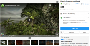 Mobile Environment Pack v 1.2 – Free Download Unity Assets