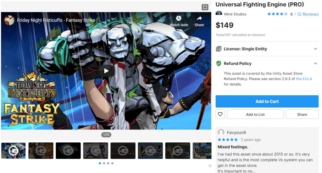 Universal Fighting Engine PRO (UFE PRO) (Free Download)
