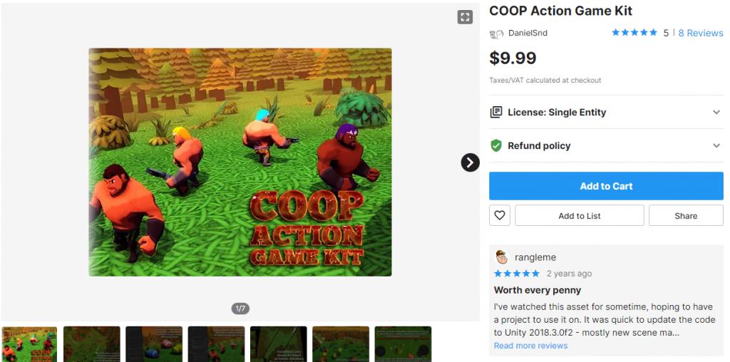 COOP Action Game Kit
