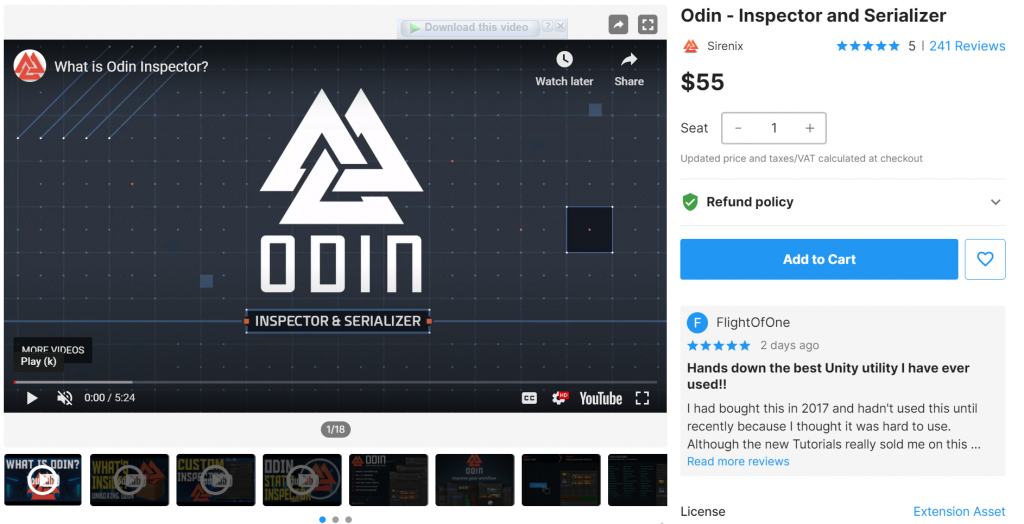 Odin-Inspector and Serializer