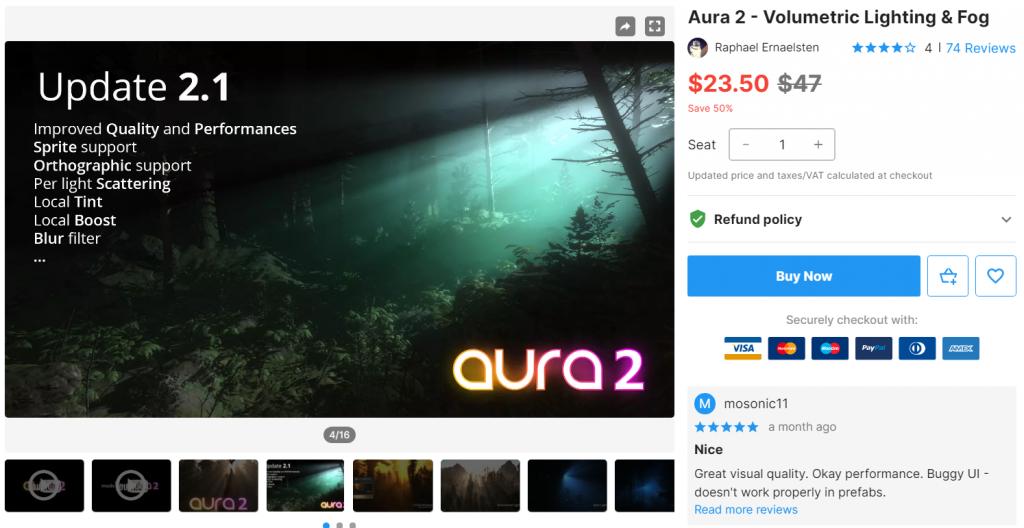 Aura 2 - Volumetric Lighting & Fog