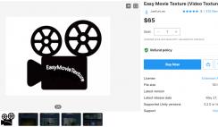 Easy Movie Texture (Video Texture)