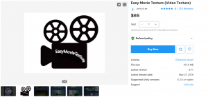 Easy Movie Texture (Video Texture) V 3.61 – Free Download Unity Assets