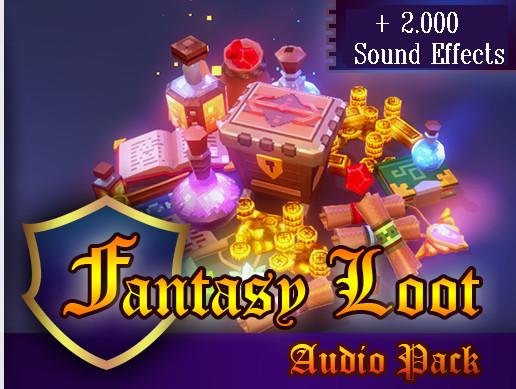 Fantasy Loot Audio Pack