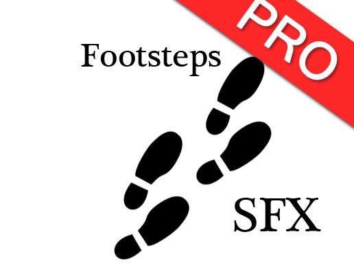 Footsteps SFX Ultimate Pack