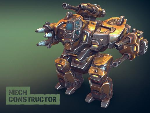 Mech Constructor: Heavy Robot