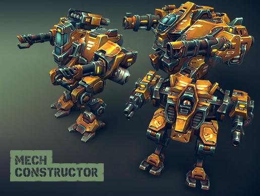 Mech Constructor: Light and Medium Robots