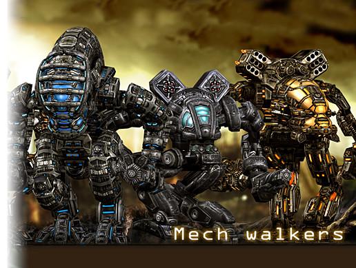 Mech Robots Pack