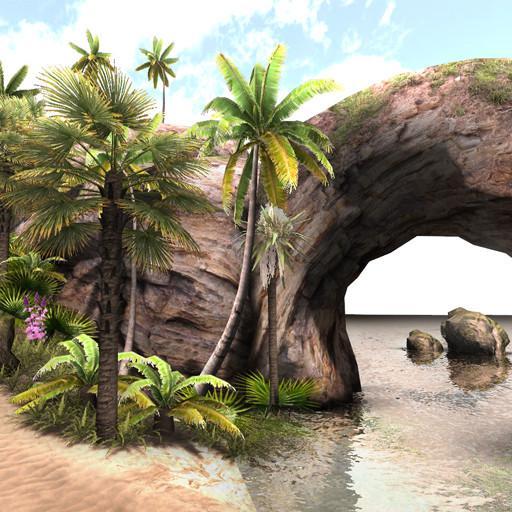 TROPICAL ISLAND FOLIAGE PACK