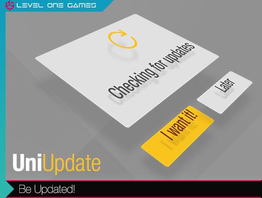 UniUpdate - Crossplatform Simple Version Updater