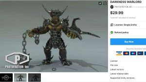 DARKNESS WARLORD – Free Download Unity Assets