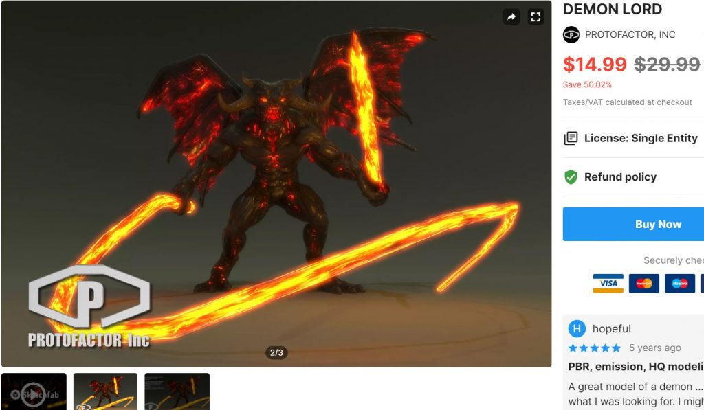 DEMON LORD– Free Download Unity Assets