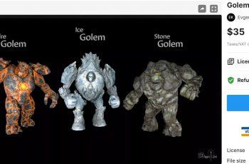 Golem Pack– Free Download Unity Assets