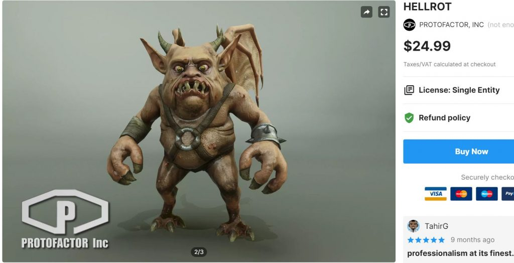 HELLROT– Free Download Unity Assets