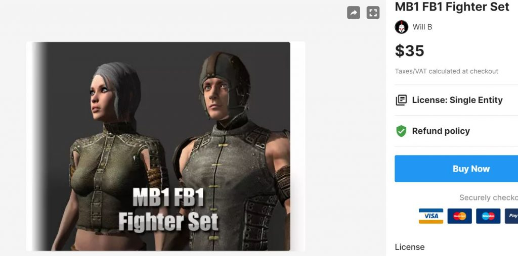 MB1 FB1 Fighter Set – Free Download Unity Assets