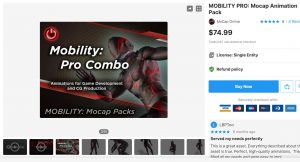 MOBILITY PRO: Mocap Animation Pack – Free Download Unity Assets