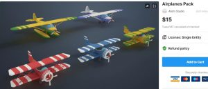 Airplanes Pack – Free Download Unity Assets