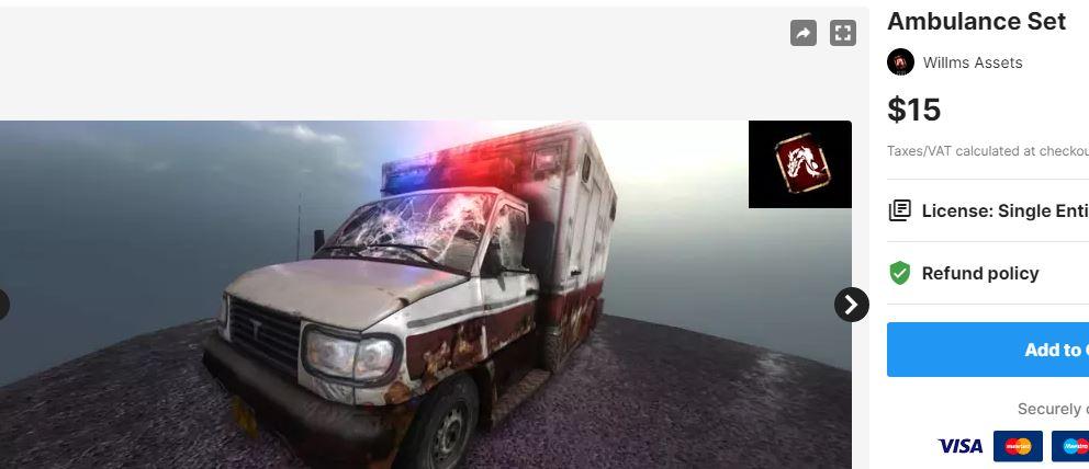 Ambulance Set – Free Download Unity Assets