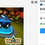 Cartoon Town Cars Pack #1 – Free Download Unity Assets