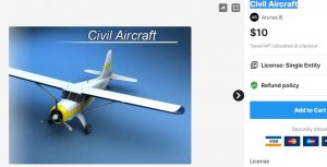 Civil Aircraft – Free Download Unity Assets