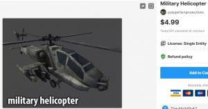 Military Helicopter – Free Download Unity Assets