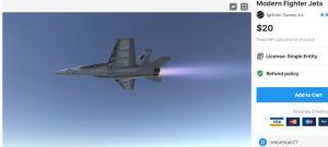 Modern Fighter Jets – Free Download Unity Assets