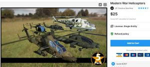 Modern War Helicopters– Free Download Unity Assets