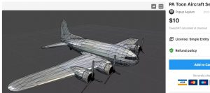 PA Toon Aircraft Set – Free Download Unity Assets
