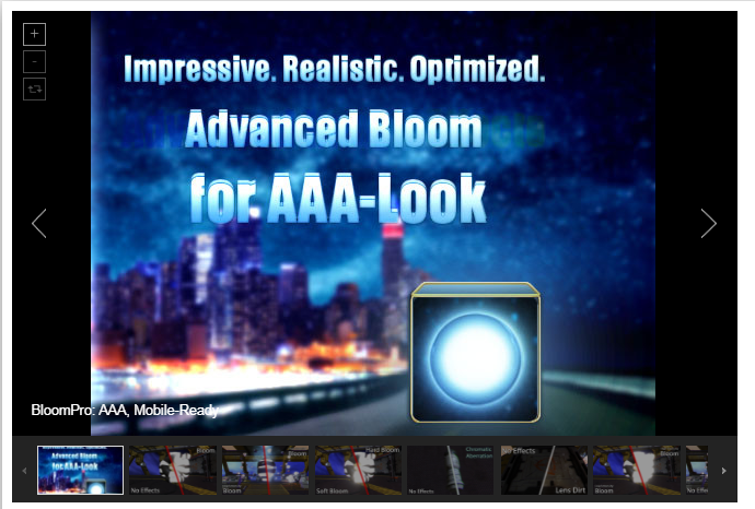 BloomPro. AAA Mobile-Ready – Free Download Unity Assets