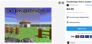 Darkbringer Retro shader – Free Download Unity Assets