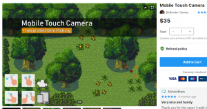 Mobile Touch Camera – Free Download Unity Assets