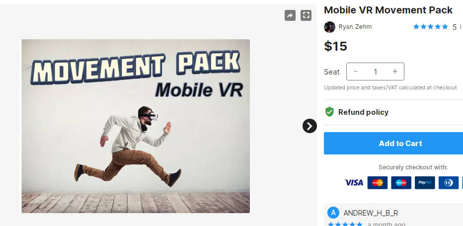 Mobile VR Movement Pack – Free Download Unity Assets