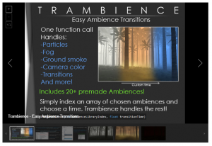 Trambience – Easy Ambience Transitions – Free Download Unity Assets