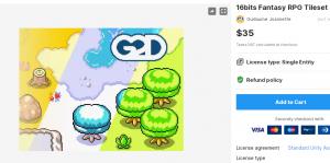 16bits Fantasy RPG Tileset – Free Download Unity Assets