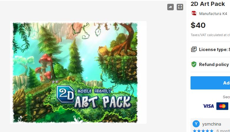 2D Art Pack – Free Download Unity Assets