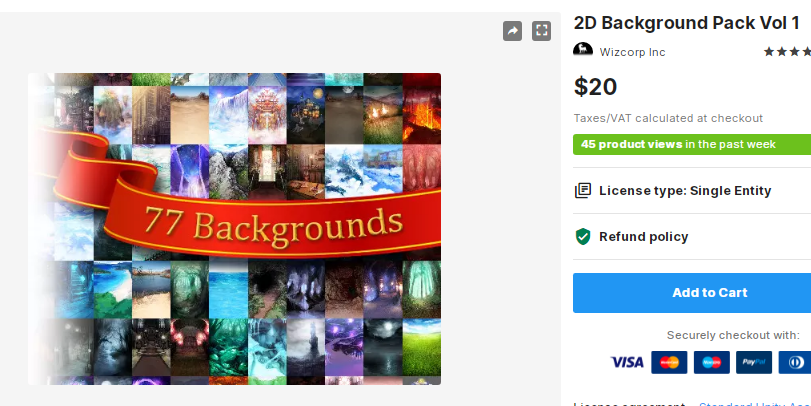 2D Background Pack Vol 1 – Free Download Unity Assets