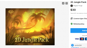 2D Jungle Pack – Free Download Unity Assets