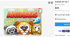 Animals 2D Vol. 1 – Free Download Unity Assets