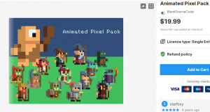Animated Pixel Pack – Free Download Unity Assets