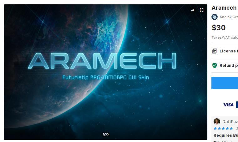 Aramech – Free Download Unity Assets