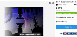 Black Supplemental Pack – Free Download Unity Assets