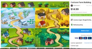 Cartoon Farm Building – Free Download Unity Assets