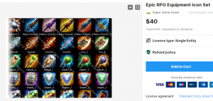 Epic RPG Equipment Icon Set – Free Download Unity Assets