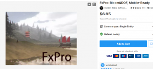 FxPro: Bloom&DOF, Mobile-Ready – Free Download Unity Assets