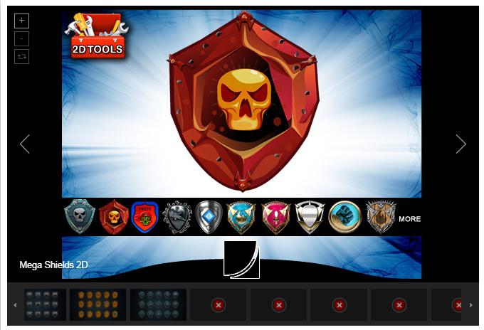Mega Shields 2D – Free Download Unity Assets